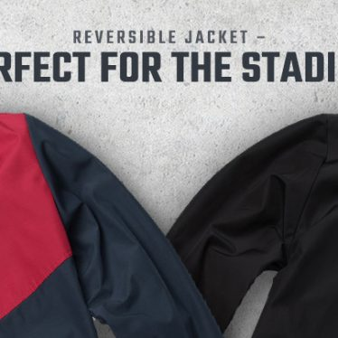REVERSIBLE JACKET – PERFECT FOR THE STADIUM